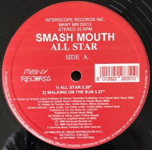 Smash Mouth / All Star (12