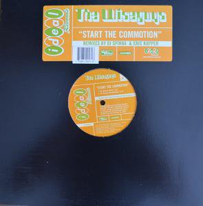 WISEGUYS / START THE COMMOTION - DJ SPINNA REMIX (12