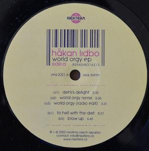 HAKAN LIDBO / WORLD ORGY EP (12