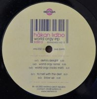 HAKAN LIDBO	 / WORLD ORGY EP (12