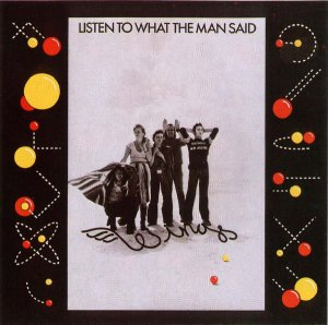 Wings / Listen To What The Man Said (7