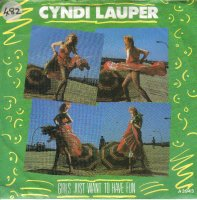 CYNDI LAUPER / GIRLS JUST WANT TO HAVE FUN (7