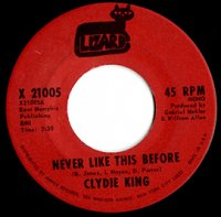 Clydie King / Never Like This Before (7