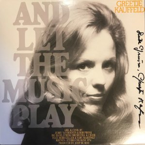 Greetje Kauffeld / And Let The Music Play (LP)