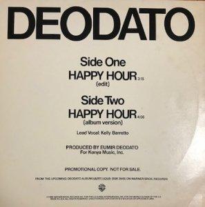 """Deodato / Happy Hour (12"""")"""