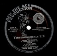 BEN THE ACE PRODUCTION / YINSTRUMENTALS E.P. (12