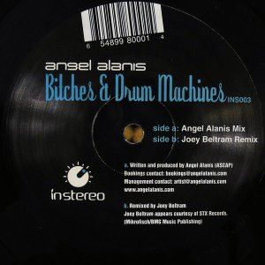 Angel Alanis / Bitches & Drum Machines (12