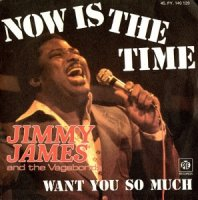 "JIMMY JAMES AND THE VAGABONDS / NOW IS THE TIME (7"")"