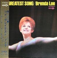Brenda Lee (ブレンダ・リー) /My Greatest Song (LP)
