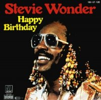 STEVIE WONDER / HAPPY BIRTHDAY (7