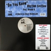 Rhythm Section Featuring Donald O / Do You Know (12