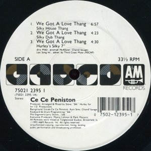Ce Ce Peniston / We Got A Love Thang (12