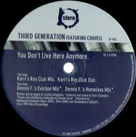 Third Generation Featuring Chavell / You Don't Live Here Anymore (12
