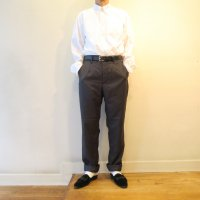 <img class='new_mark_img1' src='https://img.shop-pro.jp/img/new/icons13.gif' style='border:none;display:inline;margin:0px;padding:0px;width:auto;' />ENGINEERED GARMENTS      Andover Pant  -  Wool Gabardine  (CHARCOAL)