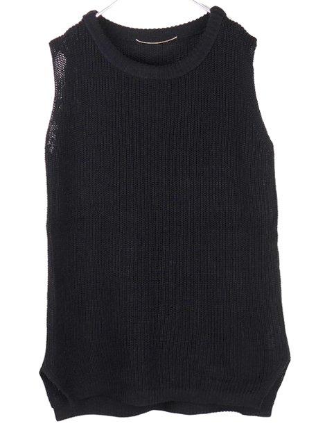 17SS ノースリーブ Knit Vest