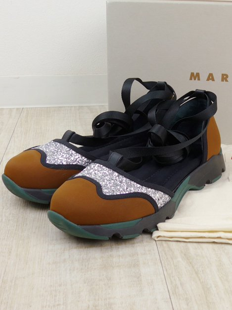 MARY JANE SCARPA レースアップスニーカー