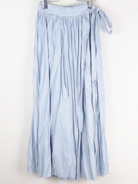 17SS ランダムプリーツラップスカート