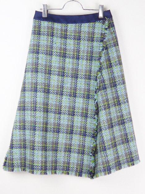 17AW チェックツィードスカート