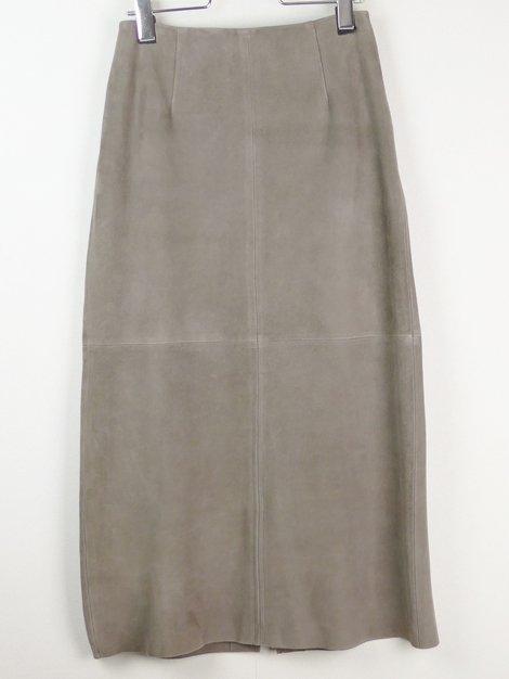 17AW カラースエードスカート