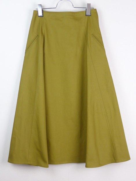 18AW ロングフレアースカート