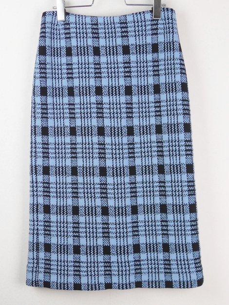 18AW チェックニットスカート