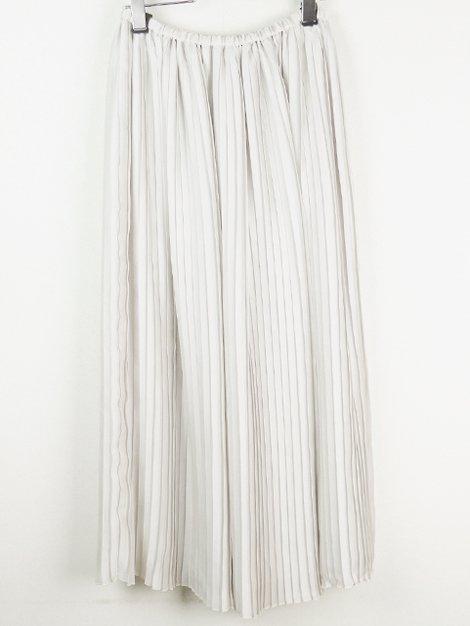 18AW サテンプリーツスカート