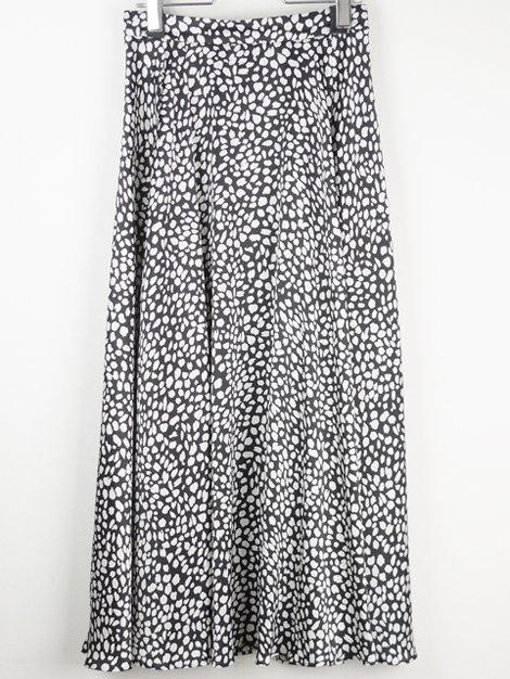 18AW レオパード柄フレアスカート