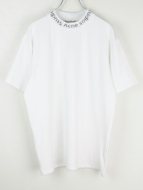 18SS Navid ネックロゴTシャツ