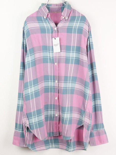 18SS チェックシャツ