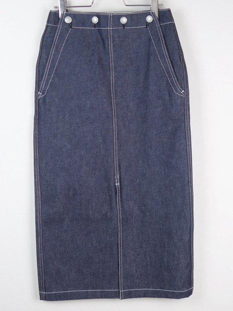 19SS デニムセイラースカート