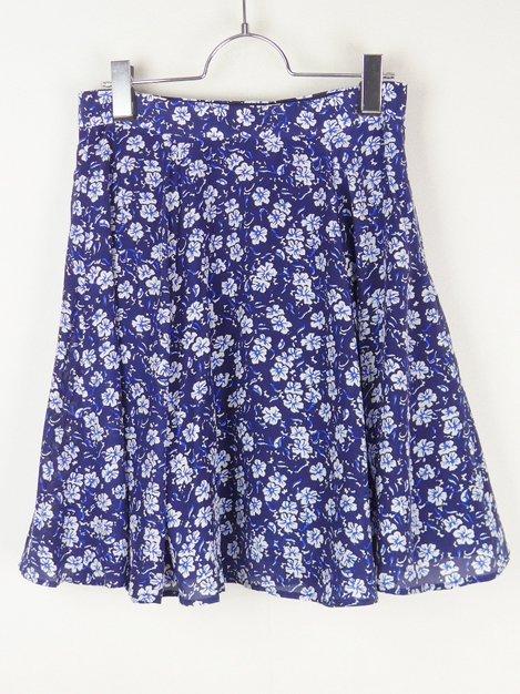 14SS フラワープリントスカート