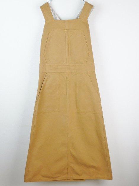 18SS キャンバスジャンパースカート