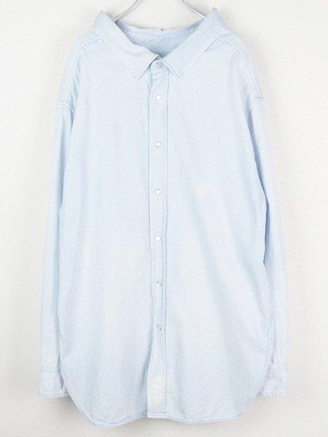 18SS スウィングカラーデニムシャツ