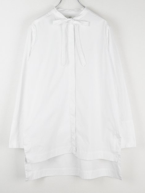 18AW ストレッチブロードリボンシャツ