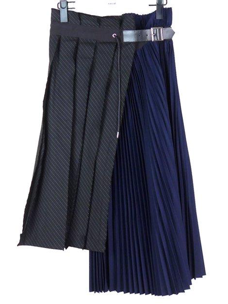 19SS プリーツラップスカート