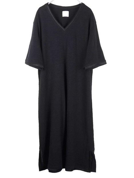 16SS シルクネップドレス