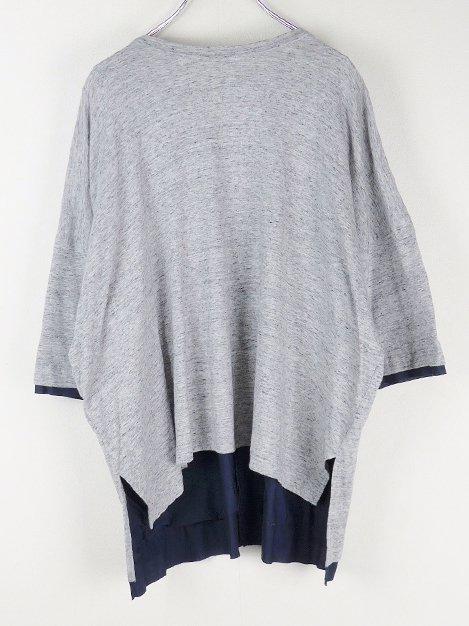 18SS 天竺backing box Tシャツ