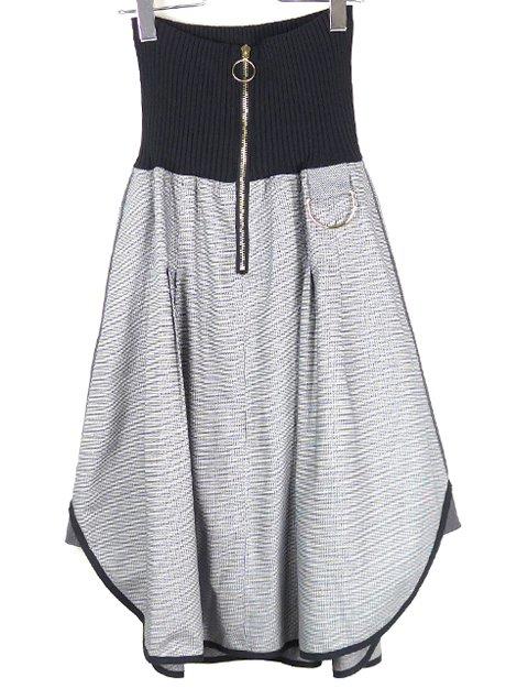 16SS ウエストマークバーズアイスカート