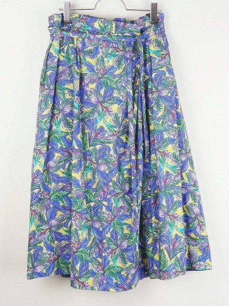 17SS フラワープリントスカート