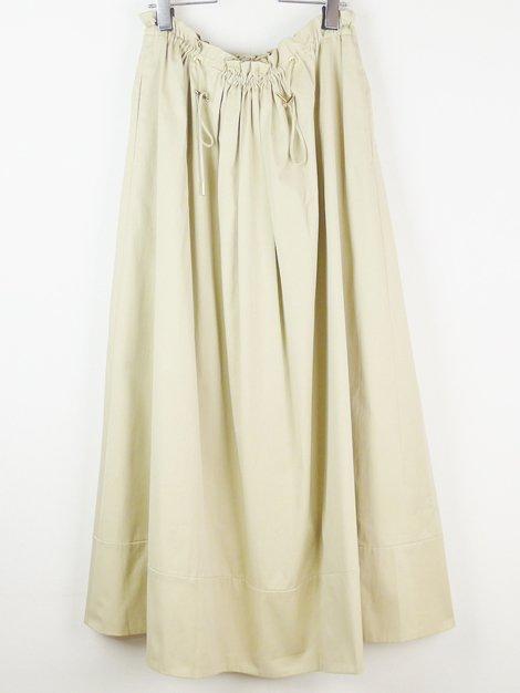 18SS ギャザーロングスカート
