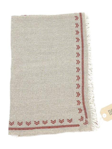 18AW 刺繍ウールストール