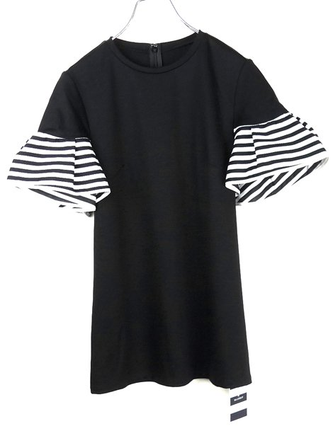 19SS ギャザースリーブTシャツ