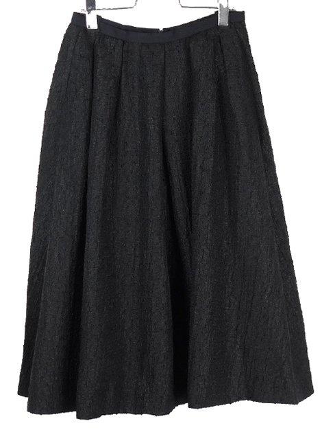 18AW ジャガードギャザースカート
