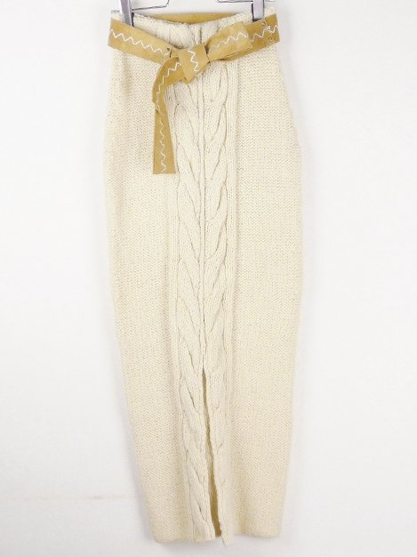17AW ニットスカート