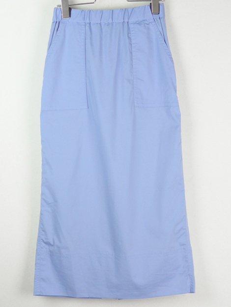 19SS コットンストレートスカート