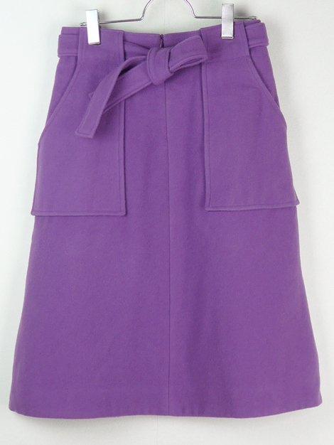 17AW ウールボックススカート