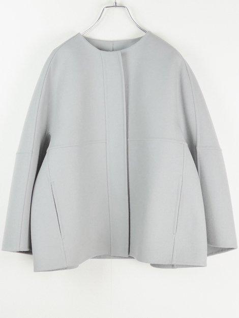 19AW ウールケヌキノーカラージャケット