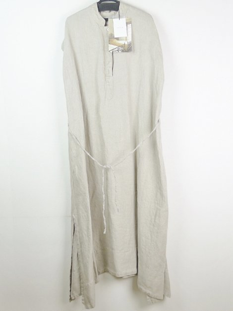 19SS linen twill anmbience dress
