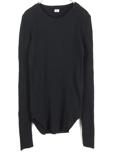 20SS GOOD GRIEF! RIB L/S TOP