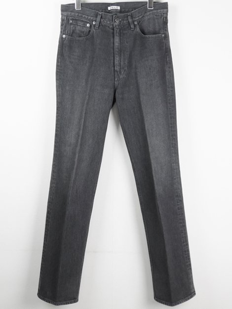 20SS WASHED HARD TWIST DENIM 5P PANTS